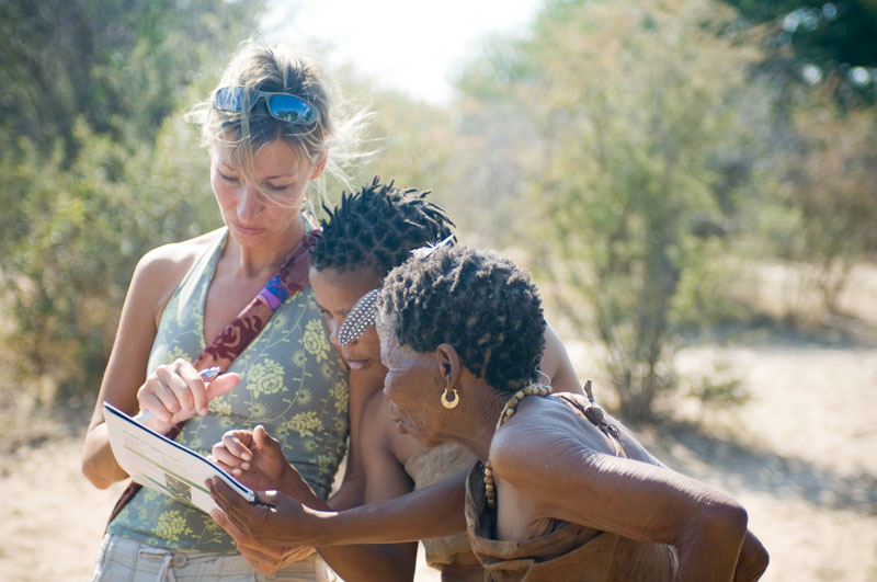 Apelian and Bushmen Women Book