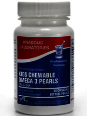Kids Chewable Omega3 Pearls
