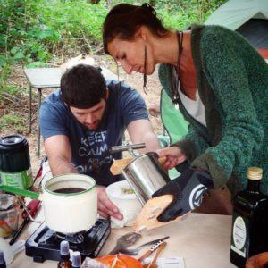 nicole-teaching-salve-making